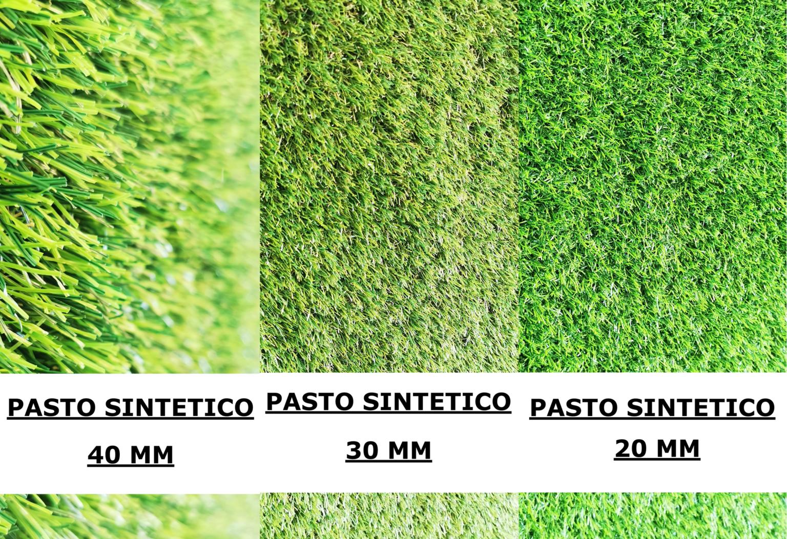PASTO SINTETICO DE ALTA CALIDAD EN 20, 30 Y 40MM DE ESPESOR